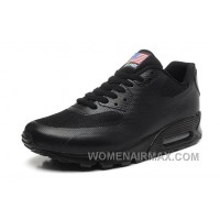 NIKE Air Max 90 Hyperfuse American Flag Black 36-46 Cheap To Buy 4Djs5My