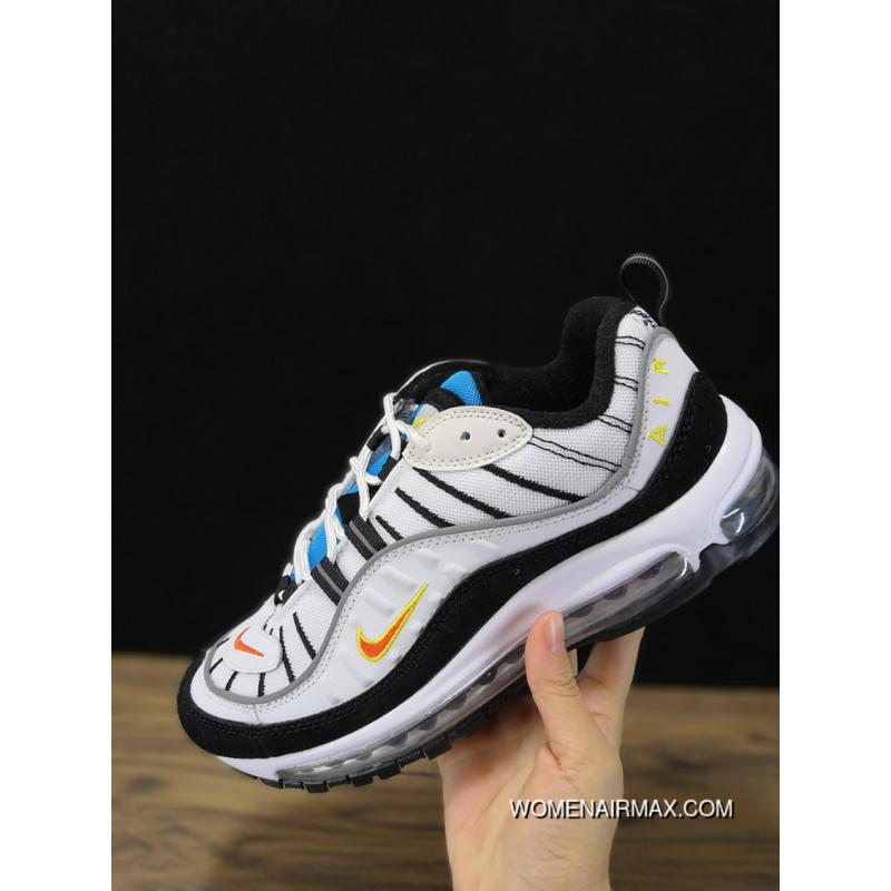 640744-104 Nike Air Max 98 Retro Sport Zoom Running Shoes Men Shoes Outlet  ...