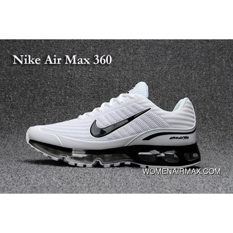 7704b2a0bf NIke Air Max360 With Nanotechnology White And Black Outlet, Price ...