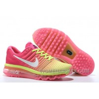 Authentic Nike Air Max 2017 Pink Volt White New Style 3CxkzGd