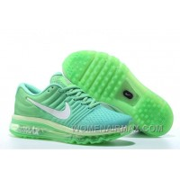Authentic Nike Air Max 2017 Apple Green Silver Lastest 4KkEYh