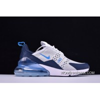 Nike Air Max 270 AH8050-144 White Ice Blue New Release