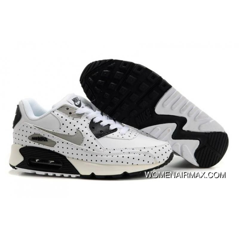 Womens Nike Air Max 90 Shoes White Black Grey,nike Free Run