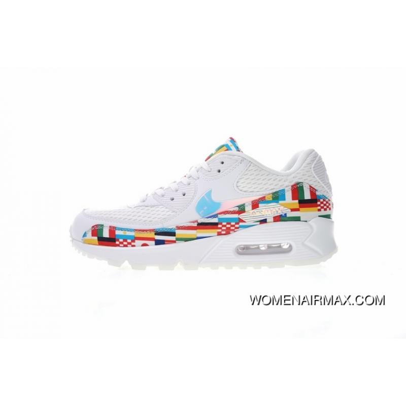 f603a1e3885503 ... World Cup Limited Nike Air Max 90 NIC QS Retro Zoom Jogging  ShoesInternational Banner Flag International ...
