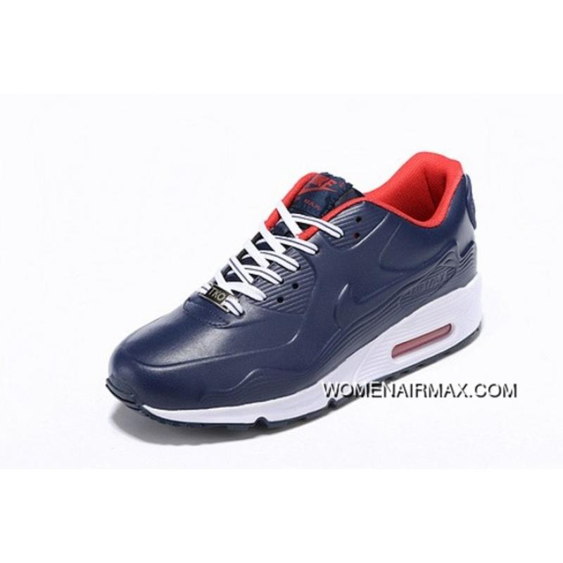 huge discount 071dd ed801 Regression Texture Nike Air Max 90 Mens Shoes Dark Blue Red Outl Copuon