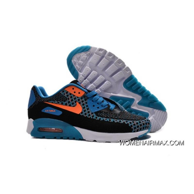new arrival 1ca4e ebfca Regression Texture Nike Air Max 90 Flyknit Shoes For Women&M Outlet