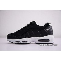 70686d09d3 Men Shoes Nike Air Max 95 PRM Retro All-match Jogging Shoes Opposition Black  WHite
