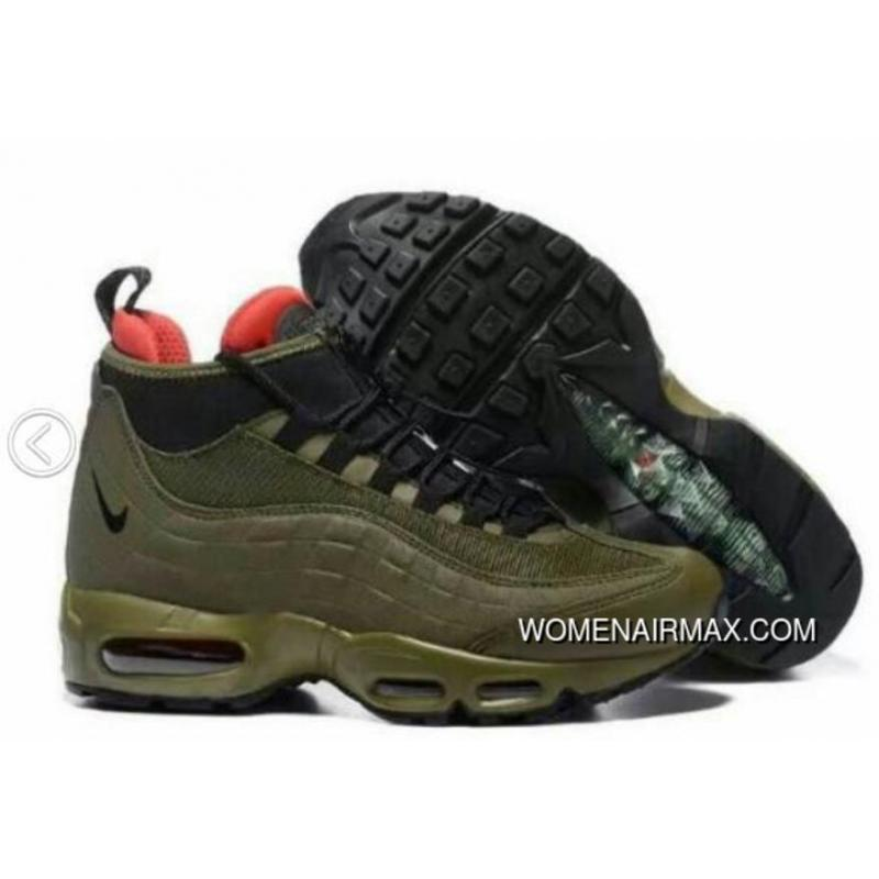 61ab4f26f5de19 USD  90.76  245.05. Nike Airmax 95 Olive Sneakers Boots New Year Deals ...