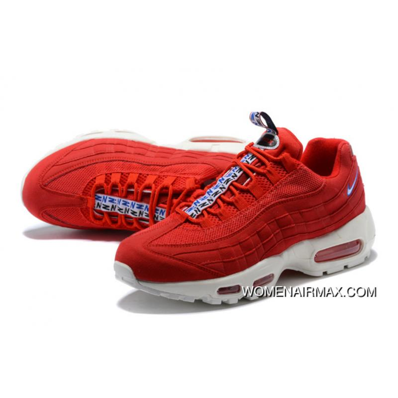 huge discount 966a6 e8406 Nike Air Max 95 TT Zoom Running Shoes Limited Joint Publishing Colorways  Red White SKU AJ1844-600 Discount