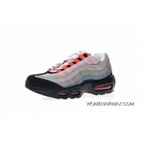 Women Shoes And Men Shoes Nike Air Max 95 Essential OG Series Retro Zoom Jogging Shoes Black Grey Gradient Red 609048106 Copuon