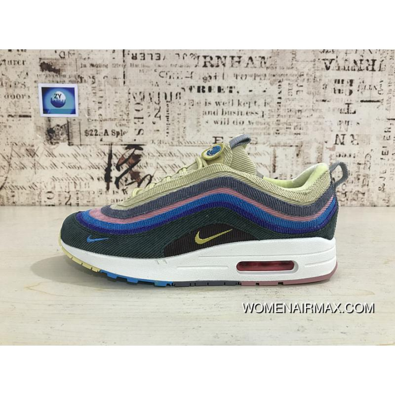 Nike Air Max 97 1 97 Rainbow Sean Wotherspoon Corduroy Mixed AJ4219 ... 57c562f75