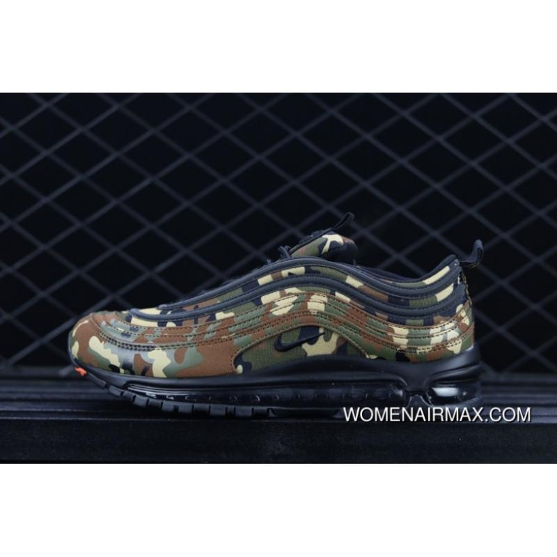 finest selection c08f8 610ed USD $105.87 $349.37. Nike Air Max 97 Premium QS Country Camo Italy AJ2614- 202 ...