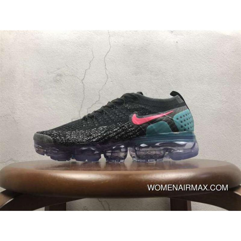 2.0 Zoom Air Nike Air Vapormax 2.0 Flyknit Black Blue 852-780464 New Year  Deals ...
