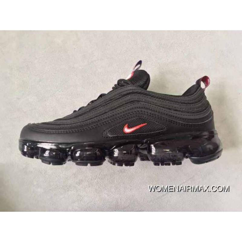 size 40 8e27b 0bd51 Nike AIR VAPORMAX 97 TT Black Red New Style