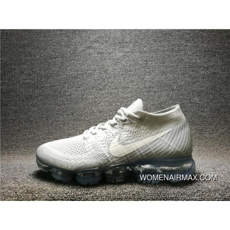 differently 7144c c5708 2017 New High Quality NIKE AIR VAPORMAX FLYKNIT Woven FLYKNIT Mesh  Breathable Running Shoes 849558-004 Women Shoes And Men Shoes Latest