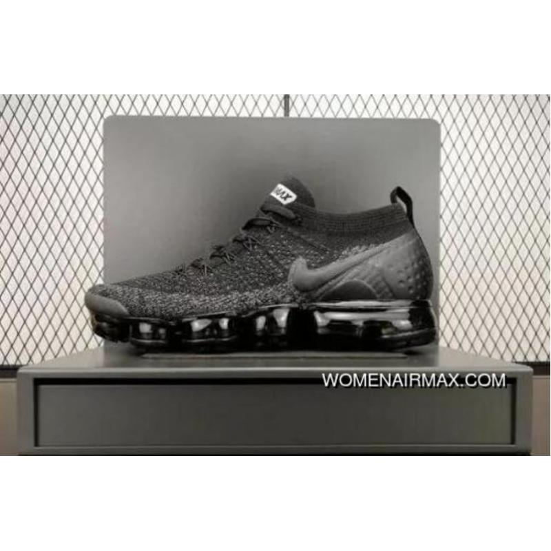 best website 0ba4b 31b12 NIKE AIR VAPORMAX FLYKNIT 2 SKU 942842 012 Black Grey Copuon