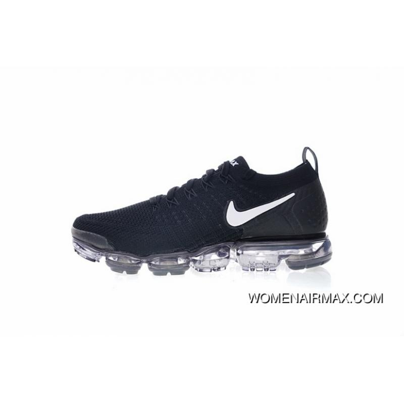 separation shoes b56ec 44b2b Women Shoes And Men Shoes Nike Air VaporMax Flyknit 2.0 W 2.0 Zoom Air  All-match Jogging Shoes2.0 All Black White Hook 942842-001 Super Deals