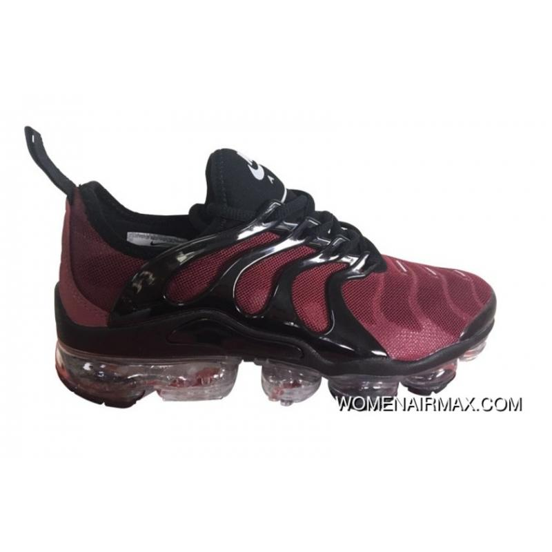 new concept 4c7eb 05399 Mens Nike Air Vapormax Plus Shoes Burgundy/Black New Style