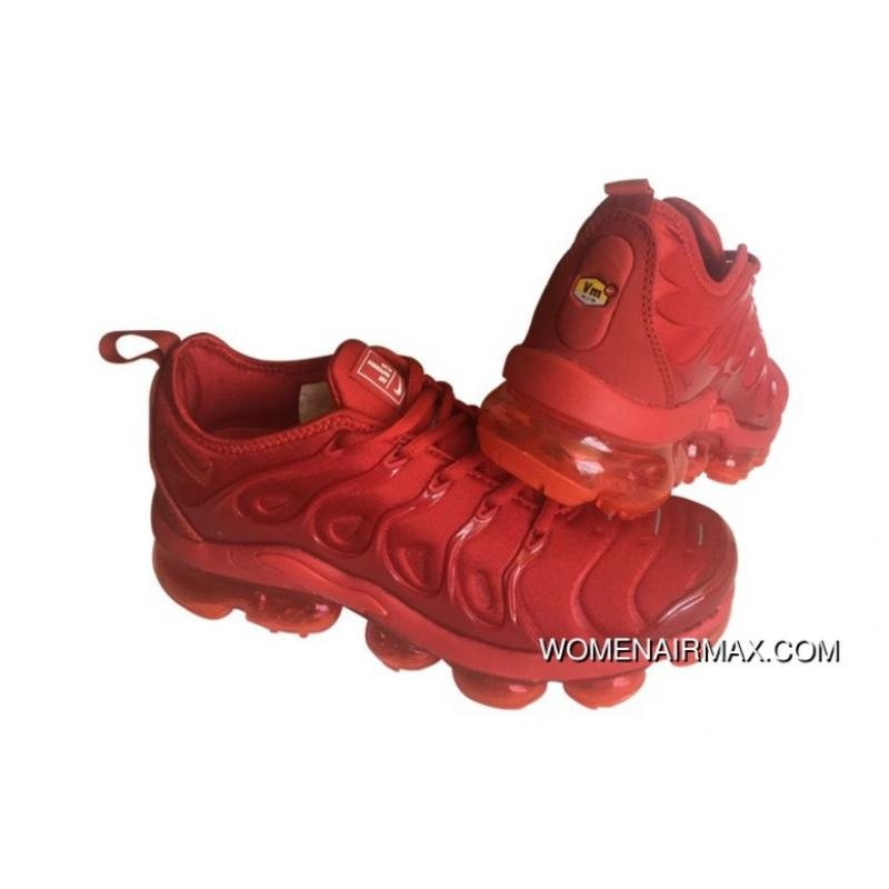 buy online 9bb12 cc0be Mens Nike Air Vapormax Plus Shoes All University Red Super Deals