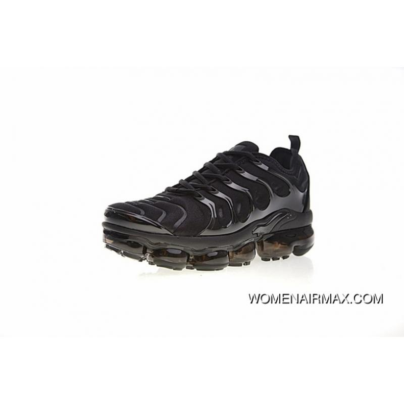 promo code d0b1d 58de3 USD $87.83 $281.06. Men Shoes Nike Air Vapormax Steam Plus TM Zoom Air  Jogging Shoes All Black Knight 924453 ...