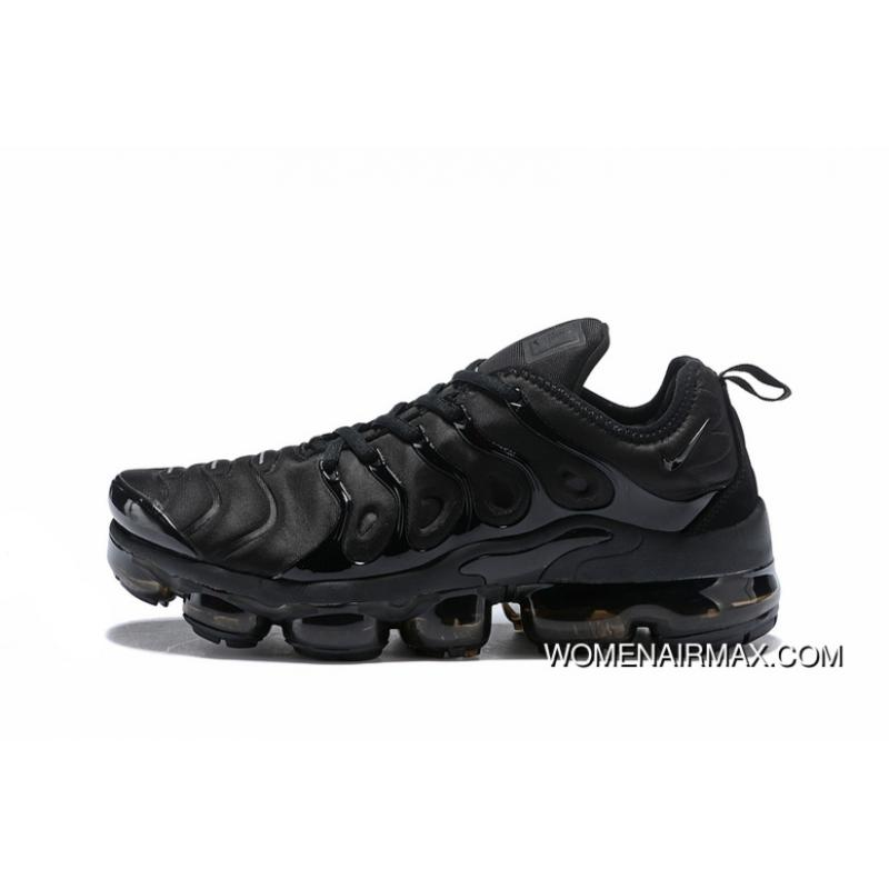 2018 Plus All Black Nike Air VaporMax TN Blood Vessels New Release ... 3c3a5c99d