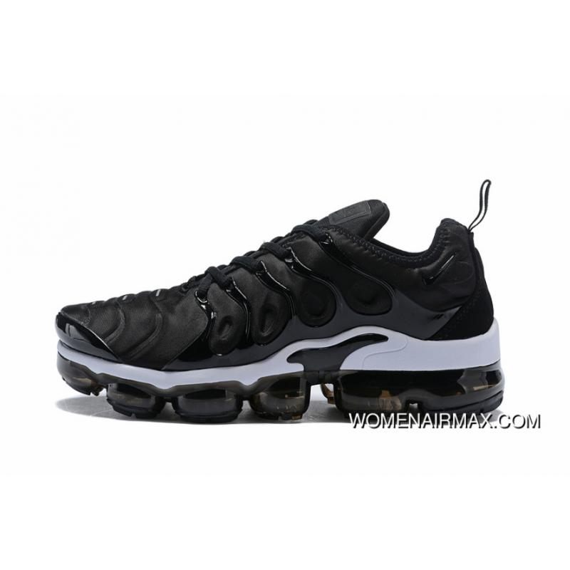 online store 4df64 8fc62 Nike Air VaporMax TN Vascular 2018 Plus Black WHite Super Deals