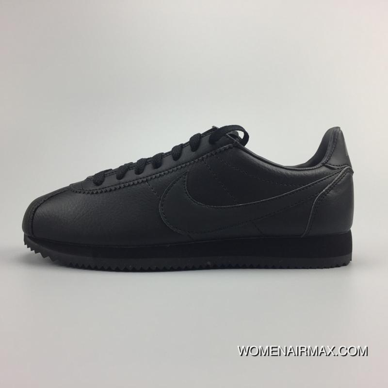 release date: 61486 7e46a usa nike air max 90 leather all black 10fd1 35bf5  buy 749571 002 nike  classic cortez leather cortez all black leather casual running shoes best  ef58b
