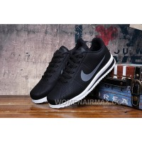 GREY BLACK NIKE CORTEZ RETRO 3 Free Shipping GGeNSZ