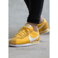 Nike Cortez Womens Yellow Black Friday Deals 2016[XMS1889] Cheap To Buy Yknmf7X
