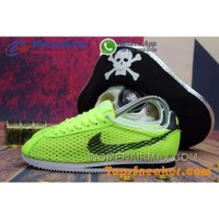Hot Sell Popular Womens Nike Cortez Mesh Yellow Black Jogging Shoes Fashionable Online WyW4a3p