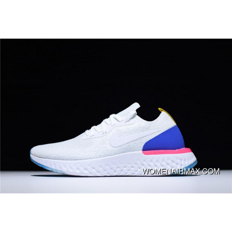 f1597e4378ab USD  87.07  252.52. Nike Epic React Flyknit Woven Surface Breathable Super Running  Shoes ...