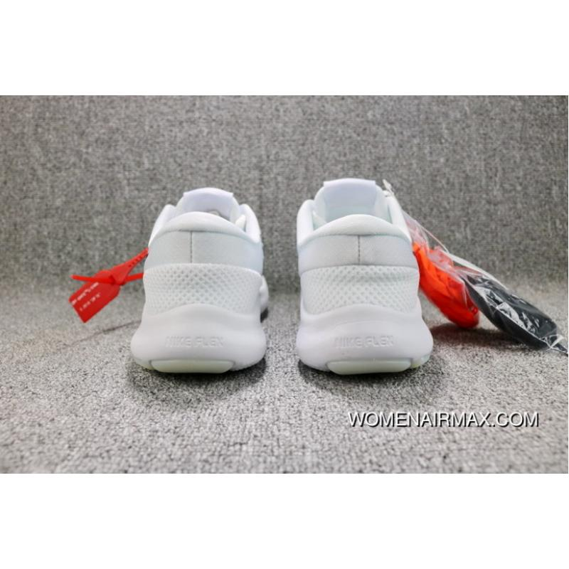 6246e2cc99bae ... OFF-WHITE X Nike FLEX EXPERIENCE RN 7 Barefoot 7 Collaboration  Publishing Breathable Mesh Sport ...