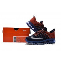 2017 Kids Nike Flyknit Zoom Air Blue Orange Red New Style DFXz76