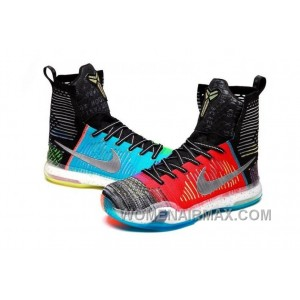 """Nike Kobe 10 Elite High SE """"What The"""" Multi-color/Reflective Silver For Sale Online 8yKW3wa"""