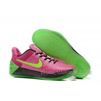 Cheap Nike Kobe A.D. 12 Pink Flash Green Red New Release ZFPQ7y