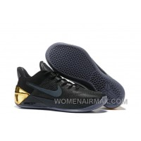 Cheap Nike Kobe A.D. 12 Limited Edition Black Gold Authentic JGff2