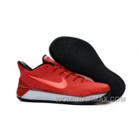 Cheap Nike Kobe A.D. 12 Guan Yu Red White Discount RjChW