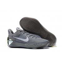 Cheap Nike Kobe A.D. 12 Cool Grey White 852425-010 Super Deals Dc44b