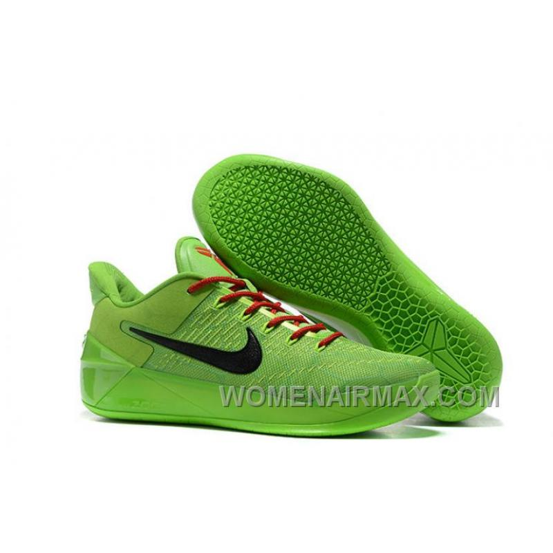 Cheap Nike Kobe A.D. 12 All Green Black Red For Sale 38YCa ...