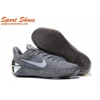 Nike Kobe A.D. Sneakers For Men Low Silver Gray New Release ZNrF4DR