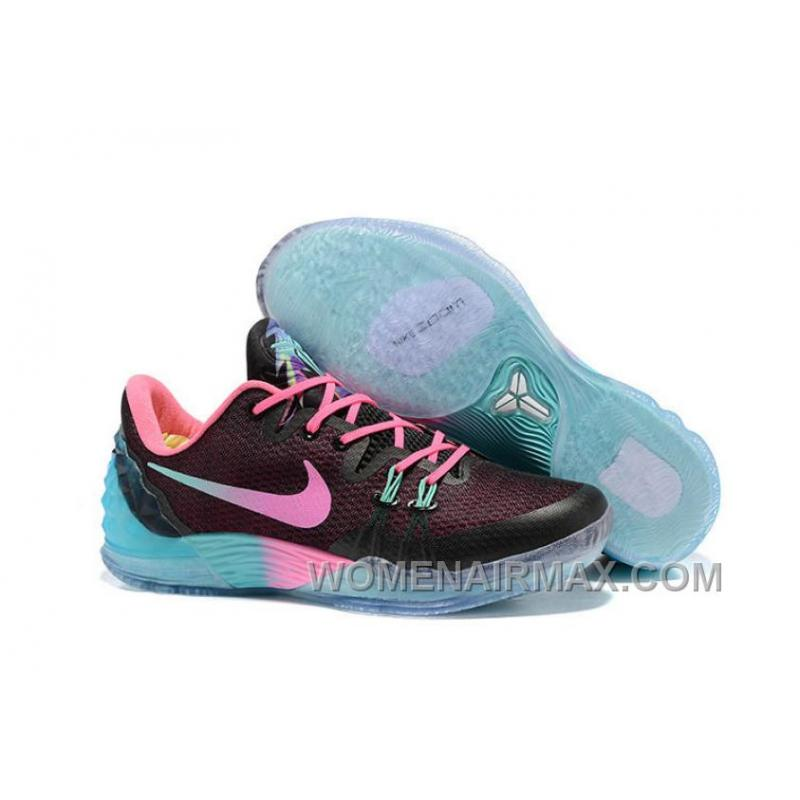 Nike Zoom Kobe Venomenon 5 Cheap Black Faded Pink Teal Best