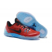 Discount Cheap Nike Zoom Kobe Venomenon 5 Red Black Soft Blue Free Shipping TaJWmH