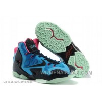 Nike Basketball Shoes Men Lebron 11 P.S. Elite Everglades Super Deals F7f7xX