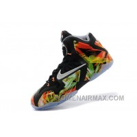 "Nike LeBron 11 ""Everglades"" Black/Metallic Silver-Wolf Grey-Atomic Mint For Sale Discount EKQcwz"