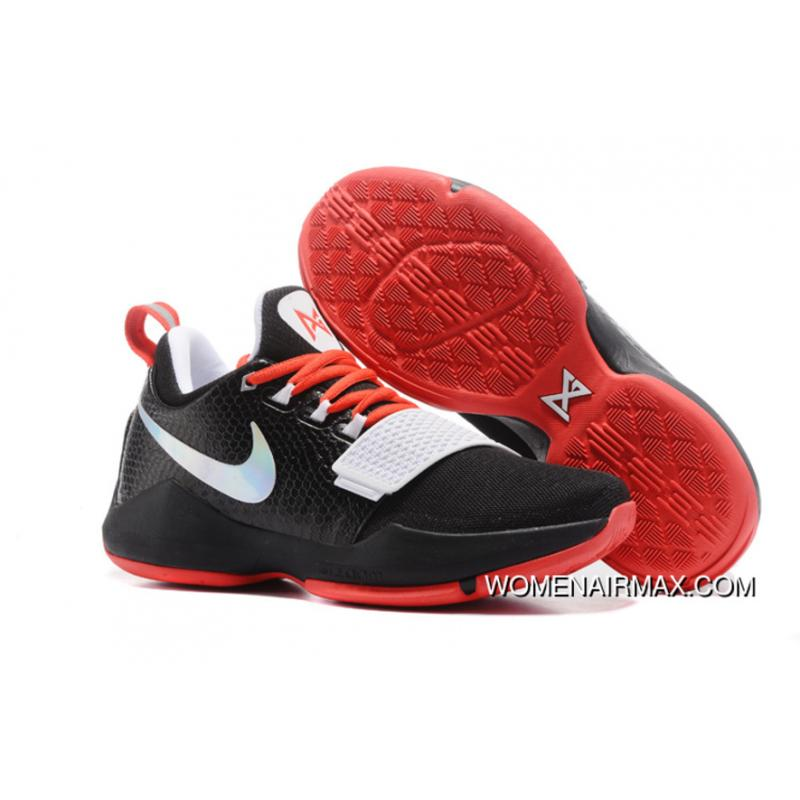 Nike Zoom Pg 1 Black White Red 2017 Top Deals