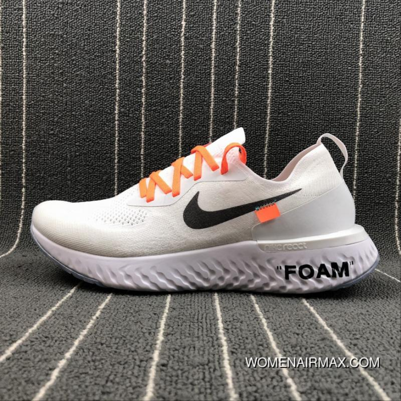 brand new ebfde 5d27a USD  88.48  309.68. THE 10 NIKE PREE RN X OFF-WHITE Joint Luminous FLYKNIT  Cushioning Running Shoes ...