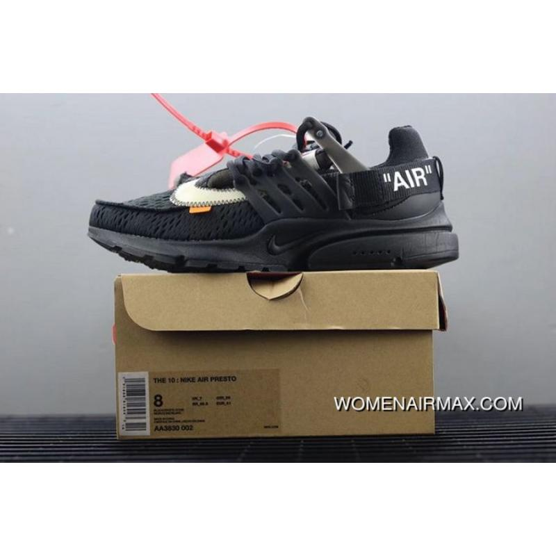 dacf9704a5cbd Men Off White X Nike Air Presto Running Shoe SKU 115244-320 Free ...