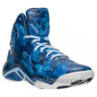 Authentic Under Armour Micro G Anatomix Spawn 2 Blue White New Style BJPhmZj