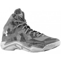 Authentic Under Armour Micro G Anatomix Spawn 2 Steel Camo Steel Black White For Sale GZme3