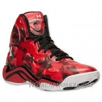Cheap Under Armour UA Micro G Anatomix Spawn 2 Red Black Top Deals FHx8a